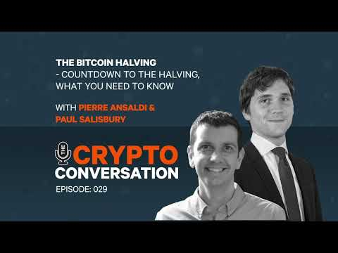The Bitcoin Halving - The Countdown Begins