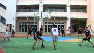九龍體育會中學籃球聯賽 K-LEAGUE SENIOR 2015 盛德VS莫慶堯 PT-1