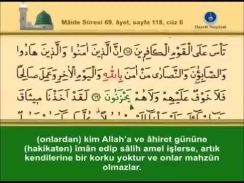 download 5- Maide Sûresi - Takipli ve Mealli - İshak Danış
