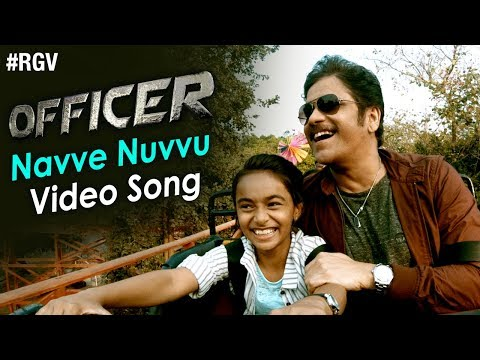 Navve Nuvvu Video Song | Officer Movie Songs | Nagarjuna | Myra Sareen | RGV | #NavveNuvvu
