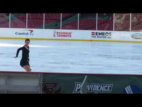 Alissa Czisny Frozen Fenway Winter Party on Ice