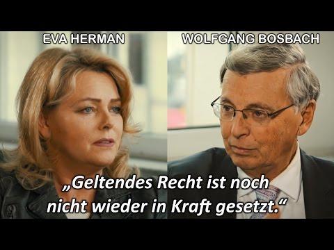 Merkel, Migranten, Fake News: Eva Herman im Interview mit CDU-Politiker Bosbach