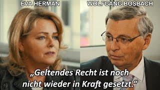 Merkels Rechtsbruch: Eva Herman im Interview mit Wolfgang Bosbach (CDU)