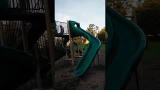 Big kid VS soapy slide