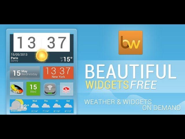 10 best Android clock widgets and weather clock widgets!