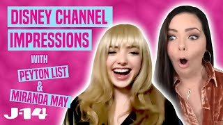 BUNK'D Stars Peyton List and Miranda May Do Disney Channel Impressions