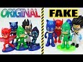 Juguetes PJ Masks Falsos vs Original