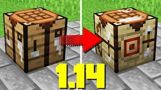 THEY'RE CHANGING CRAFTING TABLES... (Minecraft 1.14 Snapshot)