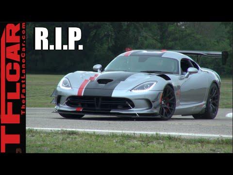 R.I.P. 2017 Dodge Viper: So long, farewell, auf wiedersehen, good night!