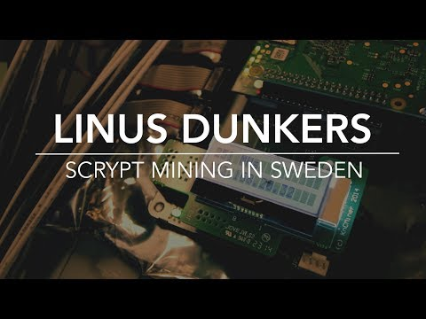 SCRYPT Mining in Sweden. Part 1 - The Hot Mountain