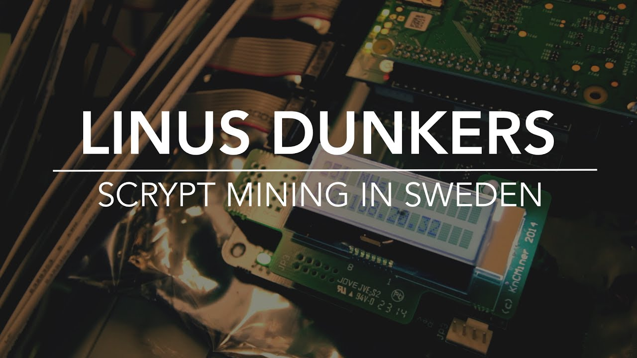 SCRYPT Mining in Sweden  Part 1 - The Hot Mountain