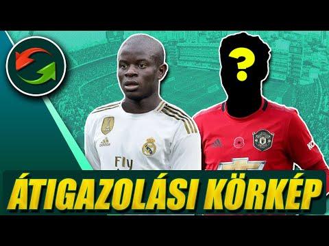 Kanté a Real Madridban? Ő lehet Pogba utódja az MU-nál?