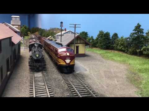 Riding The Rails on Jim Dufour's Boston and Maine Railroad Cheshire Branch.