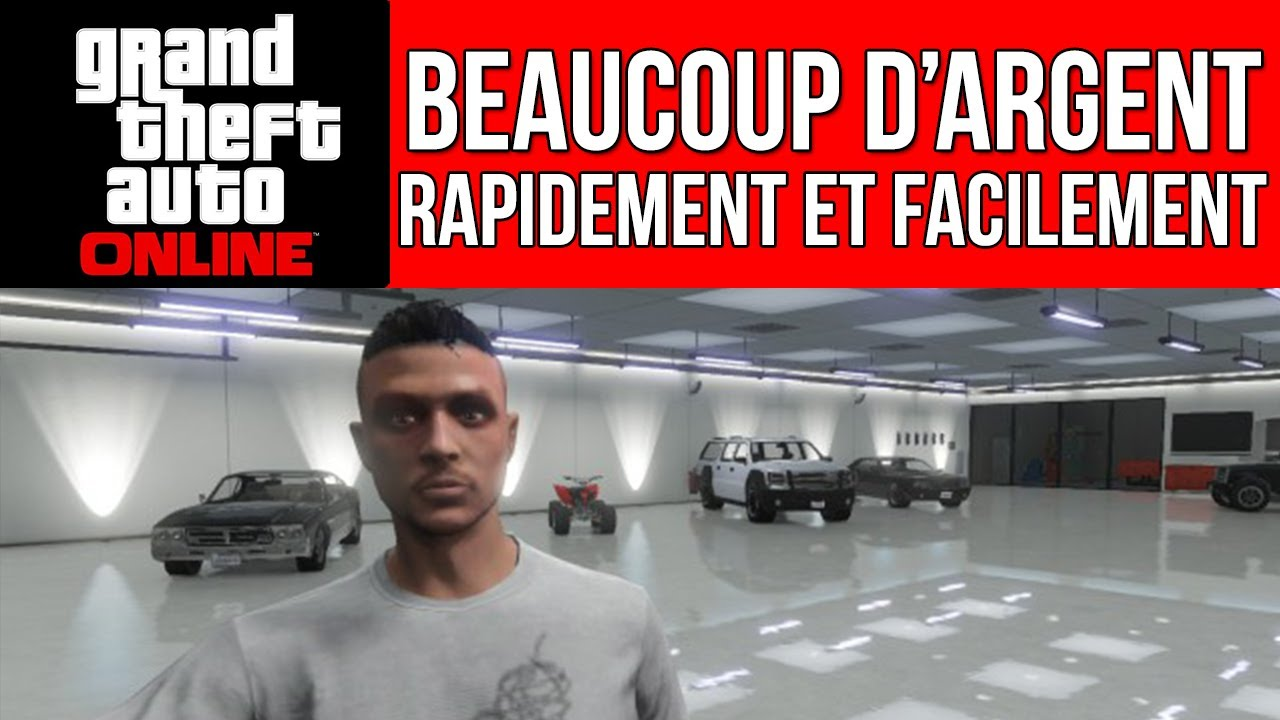 gta online tuto pour se faire de l 39 argent rapidement youtube. Black Bedroom Furniture Sets. Home Design Ideas