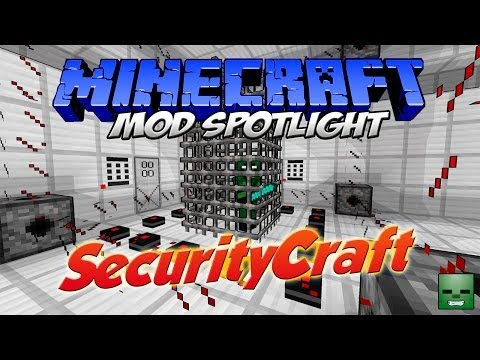 Minecraft Mods: SecurityCraft [Forge][1.7.10](Act.)