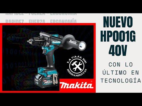 Nuevo taladro Makita 40v HP001G