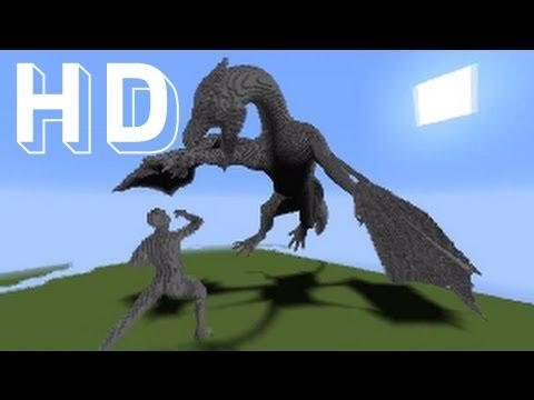 Epic Minecraft DRAGON Facecam Timelapse