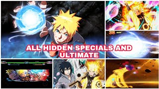 Bleach Vs Naruto 3.3 Mugen Mod Apk - Naruto Uzumaki(All Hidden Ultimate And Specials Attacks)
