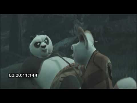"""Kung Fu Panda Deleted Scene - """"Po Blows A Gasket"""""""