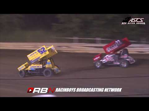ASCS RED RIVER HIGHLIGHTS FROM CREEK COUNTY SPEEDWAY 7.27.18