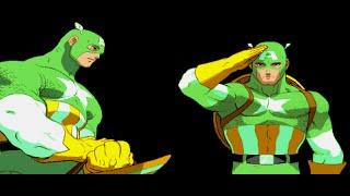 Marvel Super Heroes vs. Street Fighter - Theme of Captain America (Sega Genesis Remix)