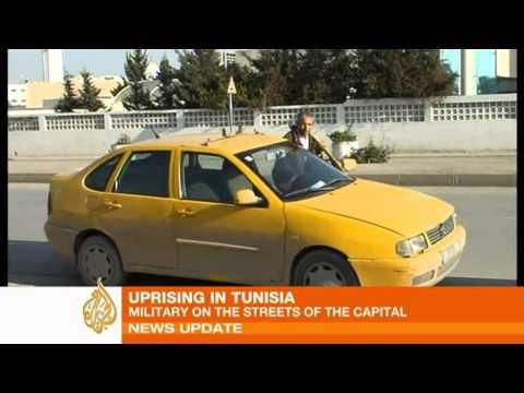 Tunisia in turmoil after uprising