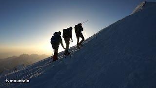 Junio 2014 Ascension del Mont-Blanc Via normal del refugio de Tête Rousse/refugio del Gouter