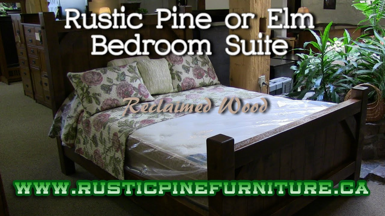 Mennonite Furniture Kitchener Rustic Pine Bedroom Suite From Reclaimed Wood Mennonite Furniture