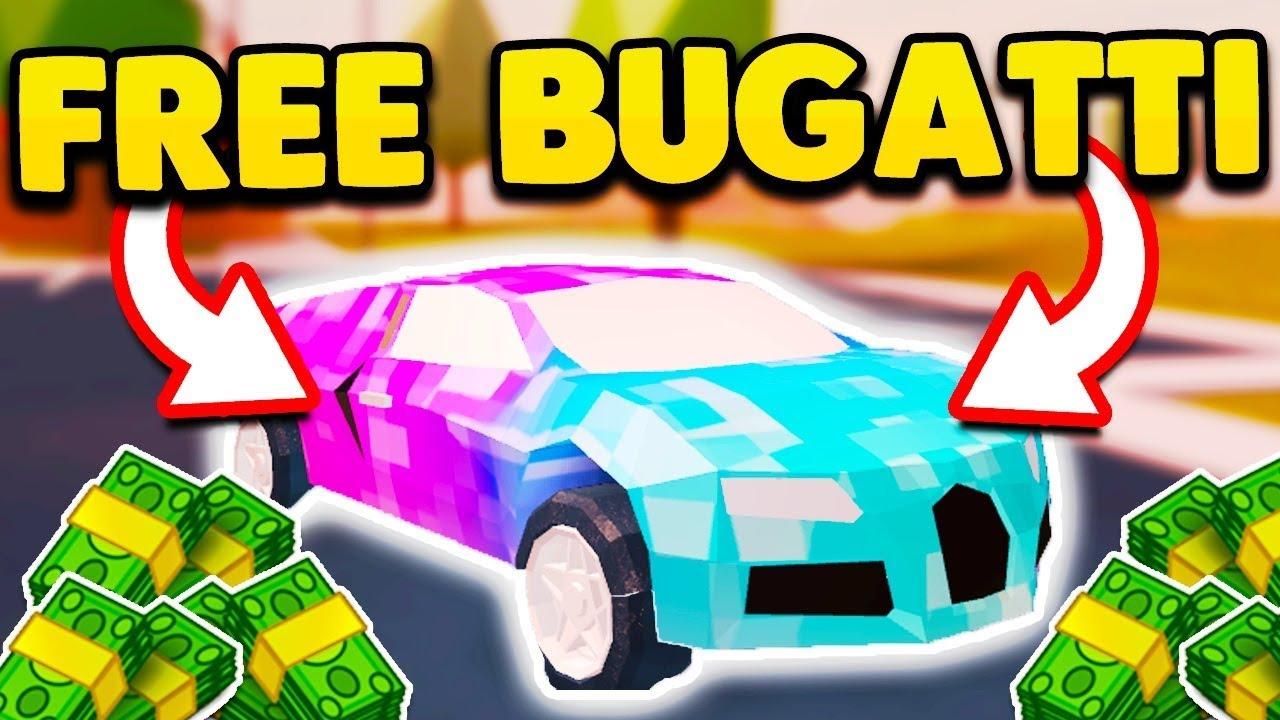 Roblox Jailbreak Bugatti Hack Get Robux In Seconds