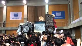 Mad max cosplay in graduation ceremony - Japan