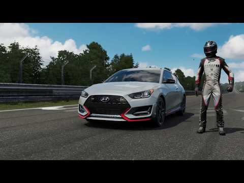 Forza Motorsport 7 Hyundai Veloster N (i30N) at the Nordschleife - PC Max Settings