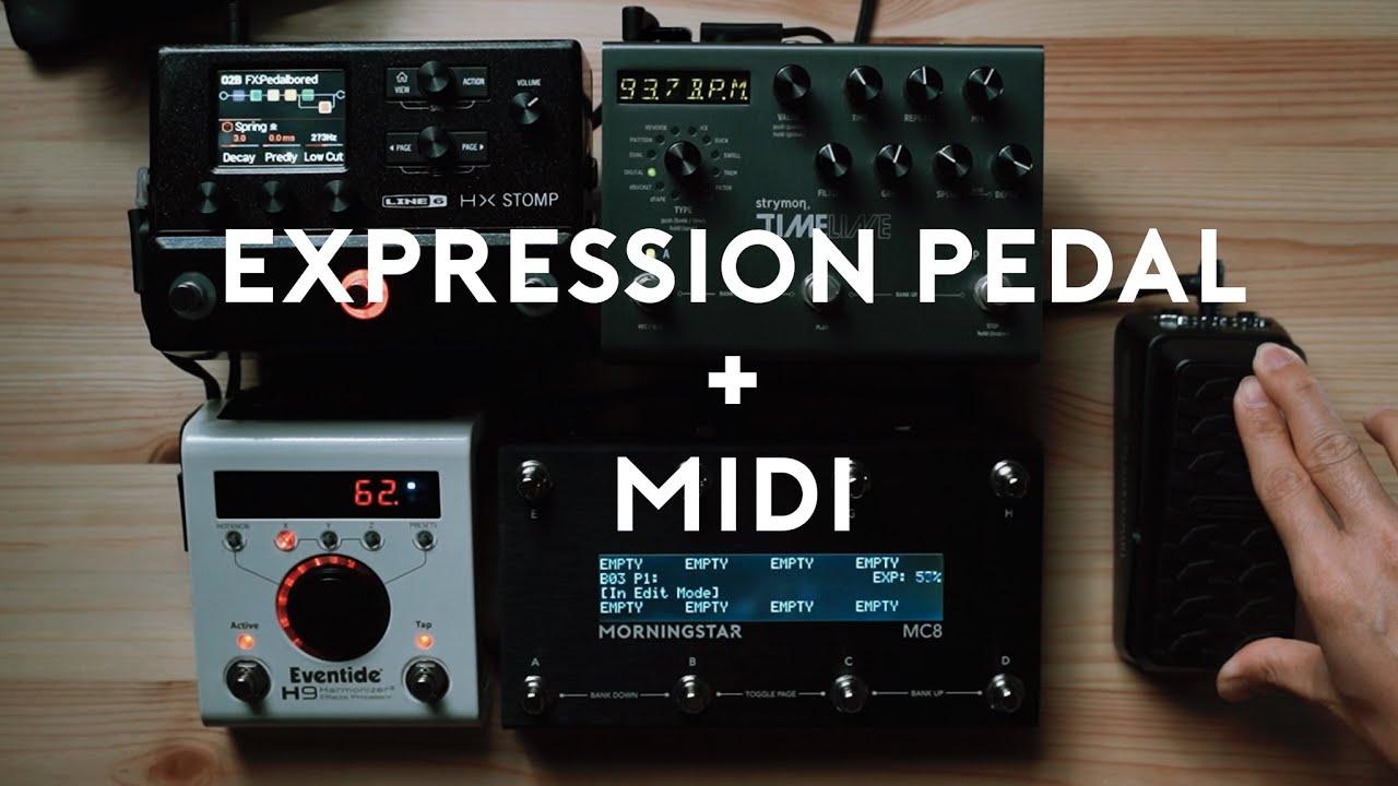 Expression Pedal + MIDI