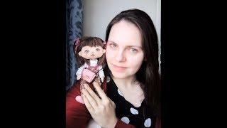 Куколка Анюта, авторская кукла ручной работы. Рассказываю о ней)