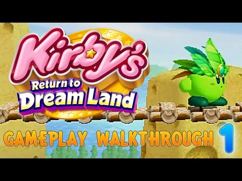I LOVE GREEN KIRBY - EPISODE 1 - Kirby's Return to Dreamland - Level 1: Cookie Country