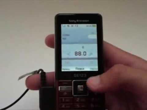 Sony Ericsson Naite видео обзор