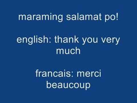 Learn tagalog phrases