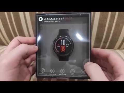 Xiaomi Amazfit Pace. Мои любимые часы. Распаковка, первое включение, настройка, циферблаты.