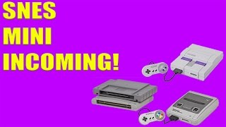 Nintendo May Launch An SNES Classic Edition Holiday 2017.