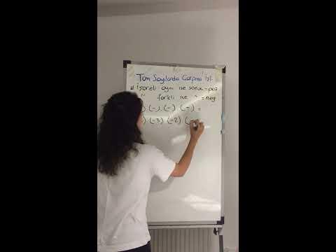 7. Sınıf matematik tam sayılarda çarpma ve bölme işlemi ✏️