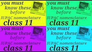 fundamentals you should know before IUPAC nomenclature/debabrata debnath/the chemistry club