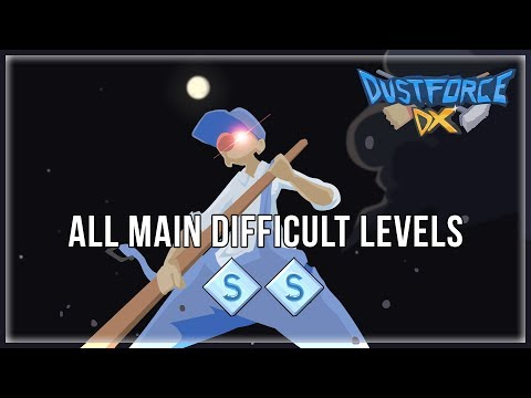 Dustforce DX - All Main Difficult Levels SS |