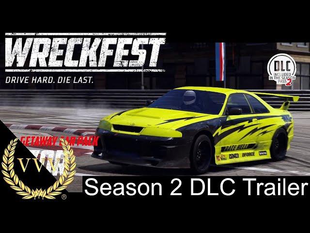 Wreckfest Season 2 DLC trailer