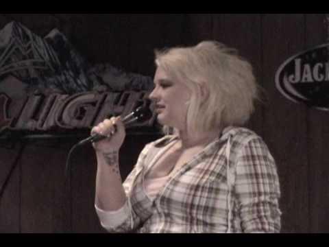 Paula 3rd Place Karaoke Winner