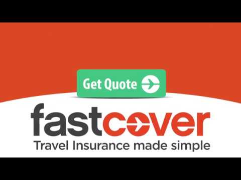 Travel Insurance Quote by Fast Cover