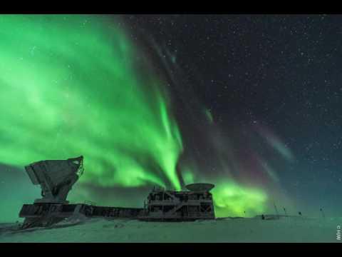 Auroras over Antarctica