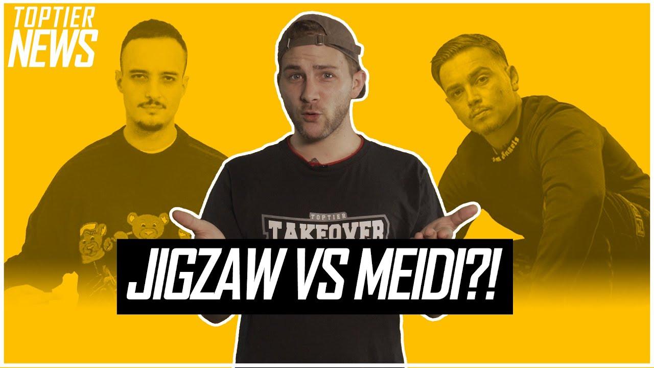 MEIDI VS JIGZAW BEEF? || BATTLERAPPER ERMORDET || PILZ WILL BATTLES LÖSCHEN? | Toptier News