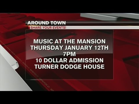 Around Town 1/10/17: Music at the Mansion