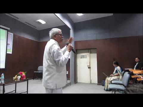Dr  Subba Rao In The National Seminar On Research Methodology
