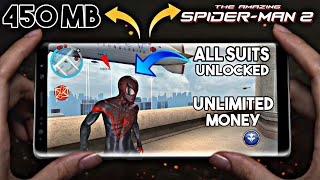 The Amazing Spiderman 2 [450 MB] | All Suits Unlocked | Unlimited Anything | On Any Device Hindi