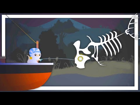 I Caught The Secret Extinct Ghost Skeleton Fish In Cat Goes Fishing